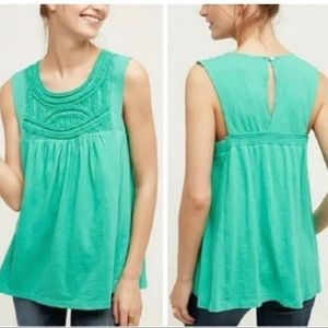 Anthropologie Akemi + Kim Otranto Top In Green